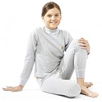 Комплект детского термобелья Termoline Cotton светло-серый 2233, ООО «Термолайн», Россия