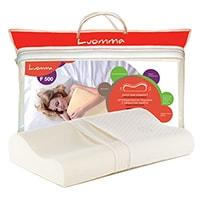 Ортопедическая подушка с эффектом памяти 30х48 см LumF-500 CO-04, ООО «Экотен»