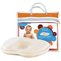 Подушка с эффектом памяти для новорожденных 23х25 см LumF-505 CO-01, ООО «Экотен»