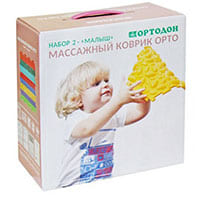Набор массажных ковриков «Малыш», ООО «ПластФактор», Россия