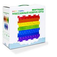 Набор массажных ковриков «Радуга», ООО «ПластФактор», Россия