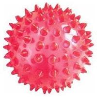 Мяч массажный  игольчатый 5 см красный. Жесткий пластик. Vega-165/5, Vega