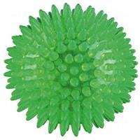 Мяч массажный  игольчатый 6 см зеленый. Жесткий пластик. Vega-165/6, Vega
