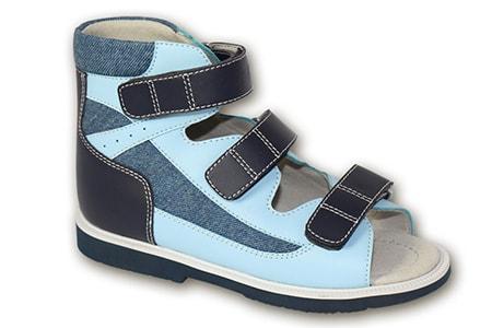 Ортопедические сандалии 1224-2, ООО «Орто-Обувь»