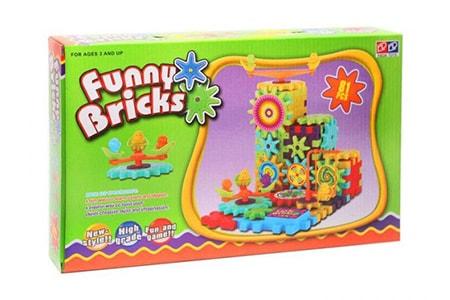 Конструктор с шестеренками Funny Bricks