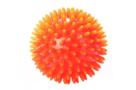 Мяч массажный игольчатый 8 см М-108, Тривес