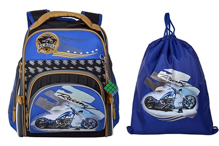 Школьный ортопедический ранец Across для мальчика 190-3, Across