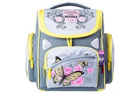 Школьный ортопедический ранец Across для девочки ACR15-211-10, Across