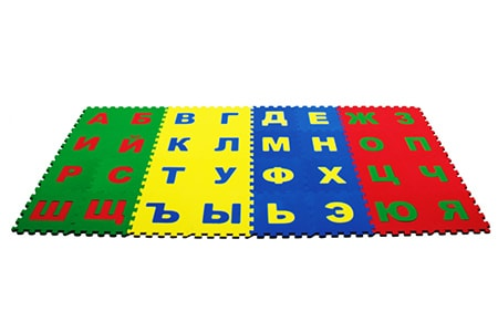 Развивающее покрытие «Алфавит русский», ООО «ОРТО.НИК», Россия