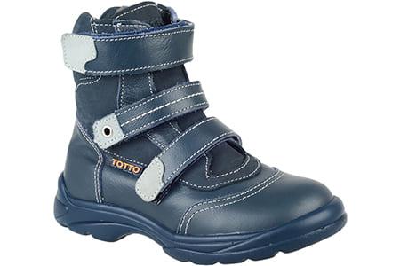 Ботинки зимние Тотто для мальчика, Тотто