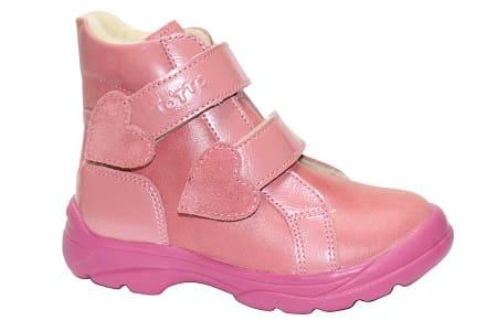 Ботинки демисезонные для девочки Тотто 3531, Тотто
